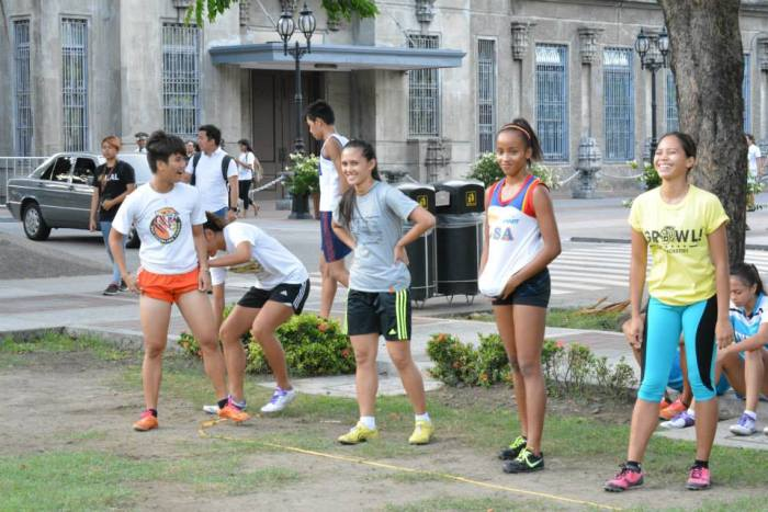 UST Sprinters Salcedo, Luzon, Janario and Loterte.