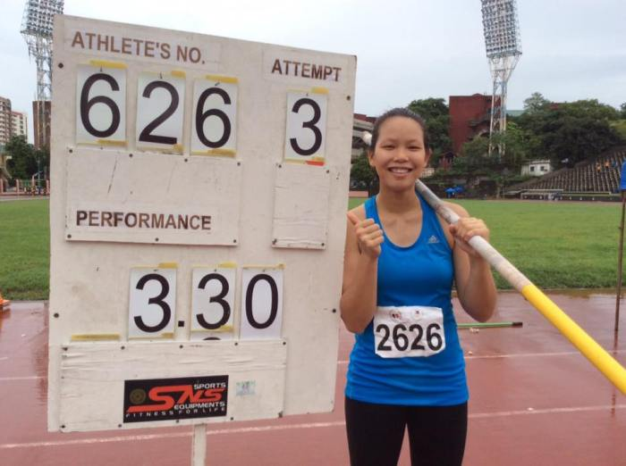 A National Junior Record for Siobe.