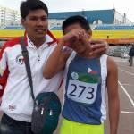 Veruel Verdadero takes Bronze in 200 at the Children of Asia met Yakutsk