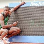 19 year old Sydney Siame clocks 9.88 hailed as New Usain Bolt