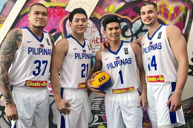 Philippines Roster in FIBA 3X3 World Cup 2017