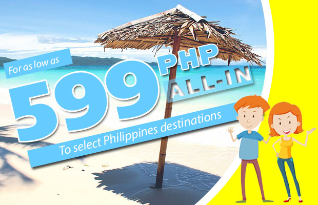 Cebu Pacific Promo 2017 (Domestic) - August, September and October For As Low As 599 Pesos