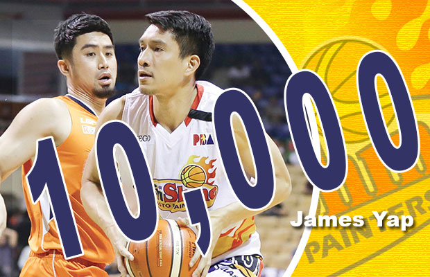 James Yap Joined The Elite 10,000 Points Club