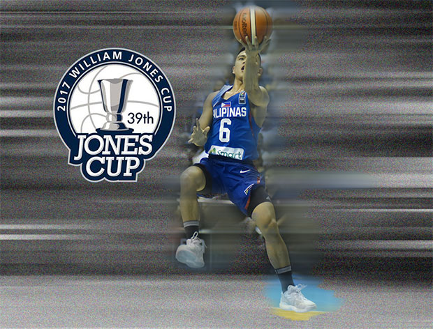 Philippines (Gilas Pilipinas) vs Chinese Taipei A - 2017 William Jones Cup Live Streaming (July 16, 2017)