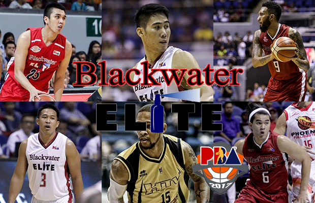 Blackwater Elite Roster - 2017 PBA Governor's Cup