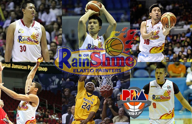 Rain or Shine Elasto Painters Roster - 2017 PBA Governor's Cup