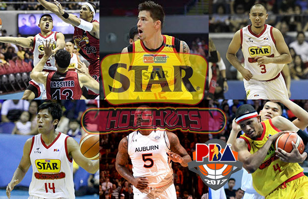 Star Hotshots Roster - 2017 PBA Governor's Cup