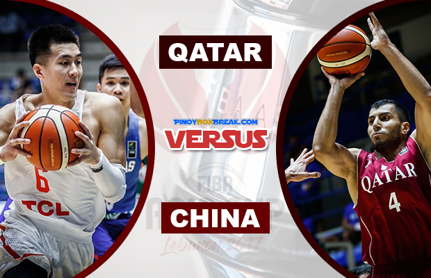 China vs Qatar - 2017 FIBA Asia Cup Live Streaming (August 11, 2017)