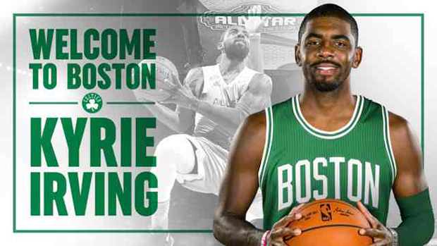 NBA Trade Alert: Kyrie Irving Is Now A Member Of Boston Celtics
