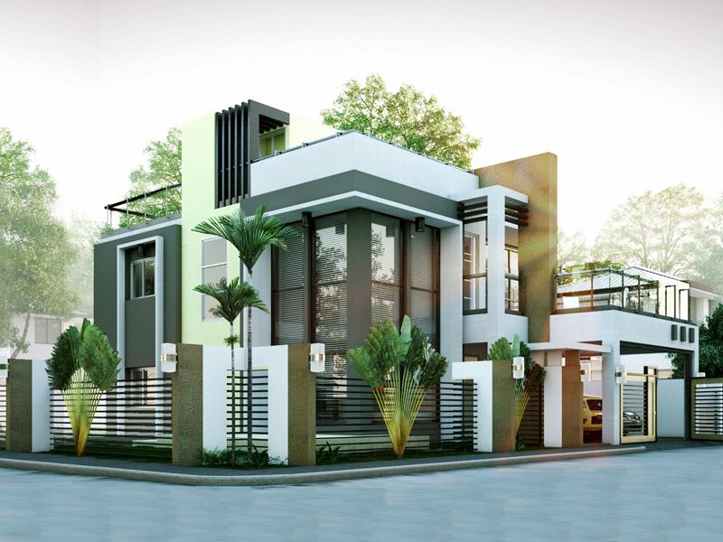 Modern House Designs Series: MHD-2014010