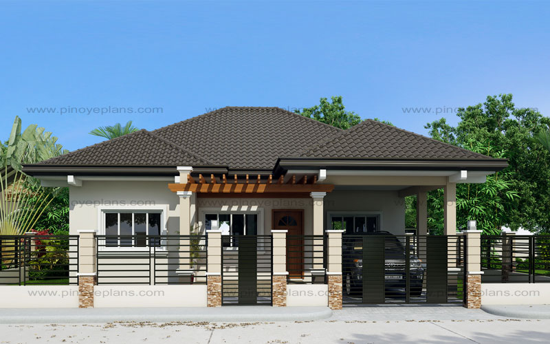 One Story House With Elegance (SHD-2015020