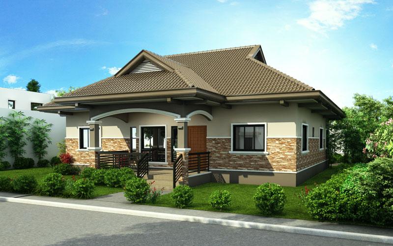 One Storey House Design 2015002