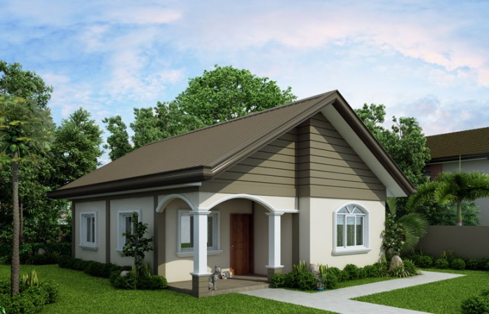 Simple But Still Functional Small House Design