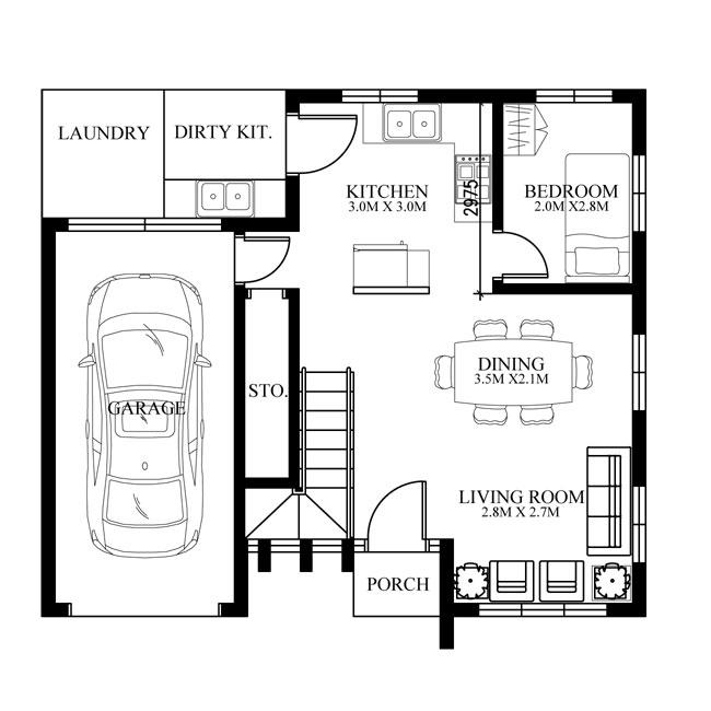 pinoy-house-design-2015015-ground-floor-plan