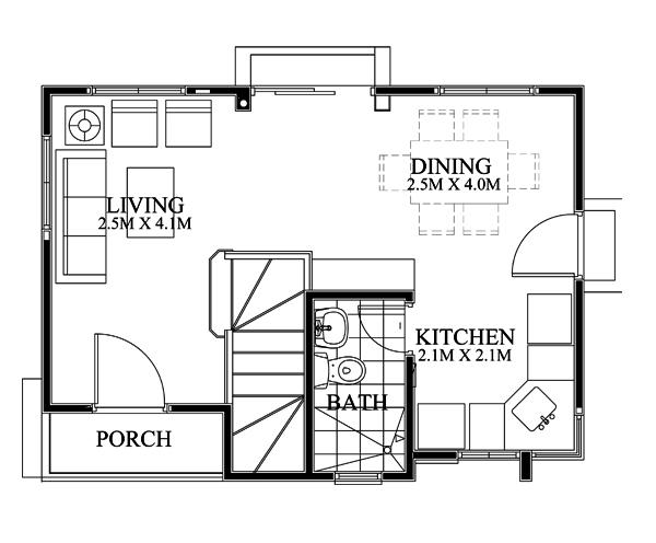 pinoy-house-design-2015018-Ground-Floor-Plan