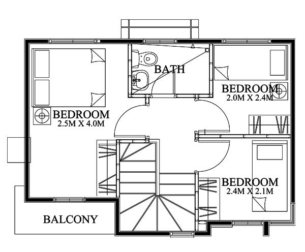 pinoy-house-design-2015018-Second-Floor-Plan