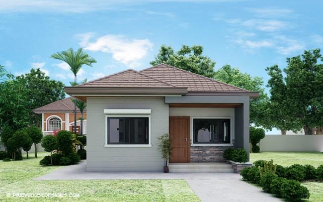 Simple 3-Bedroom Bungalow House Design – Amazing ...