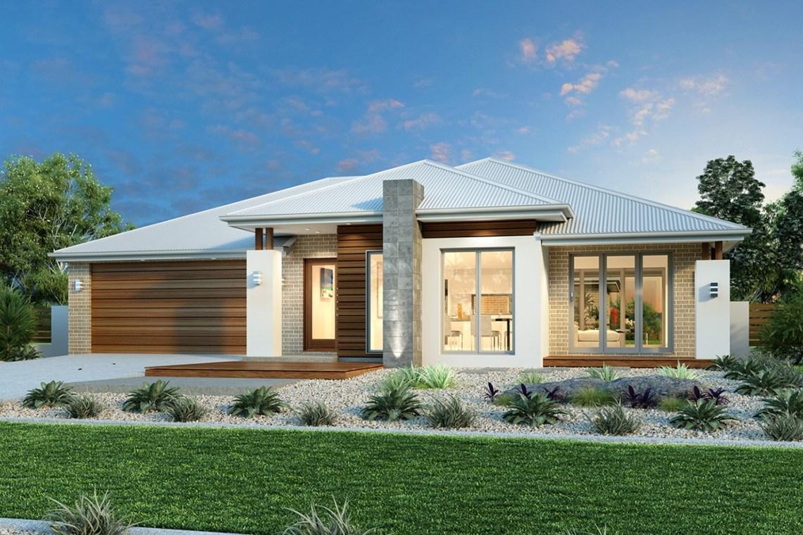 Stunning Single Story Contemporary House Plan - Pinoy ...