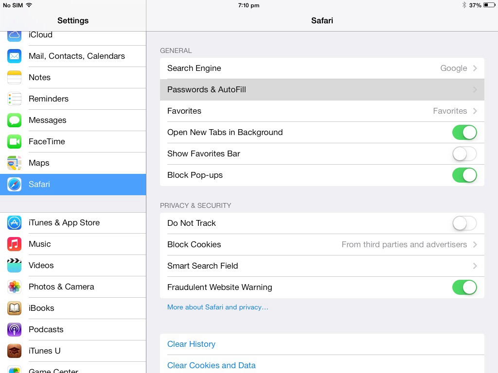 How To Recover Saved Password on iPad / iPhone / iPod Safari iOS 7