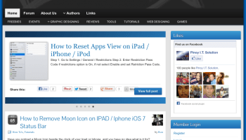 How to Reset Apps View on iPad / iPhone / iPod - PinoyITSolution