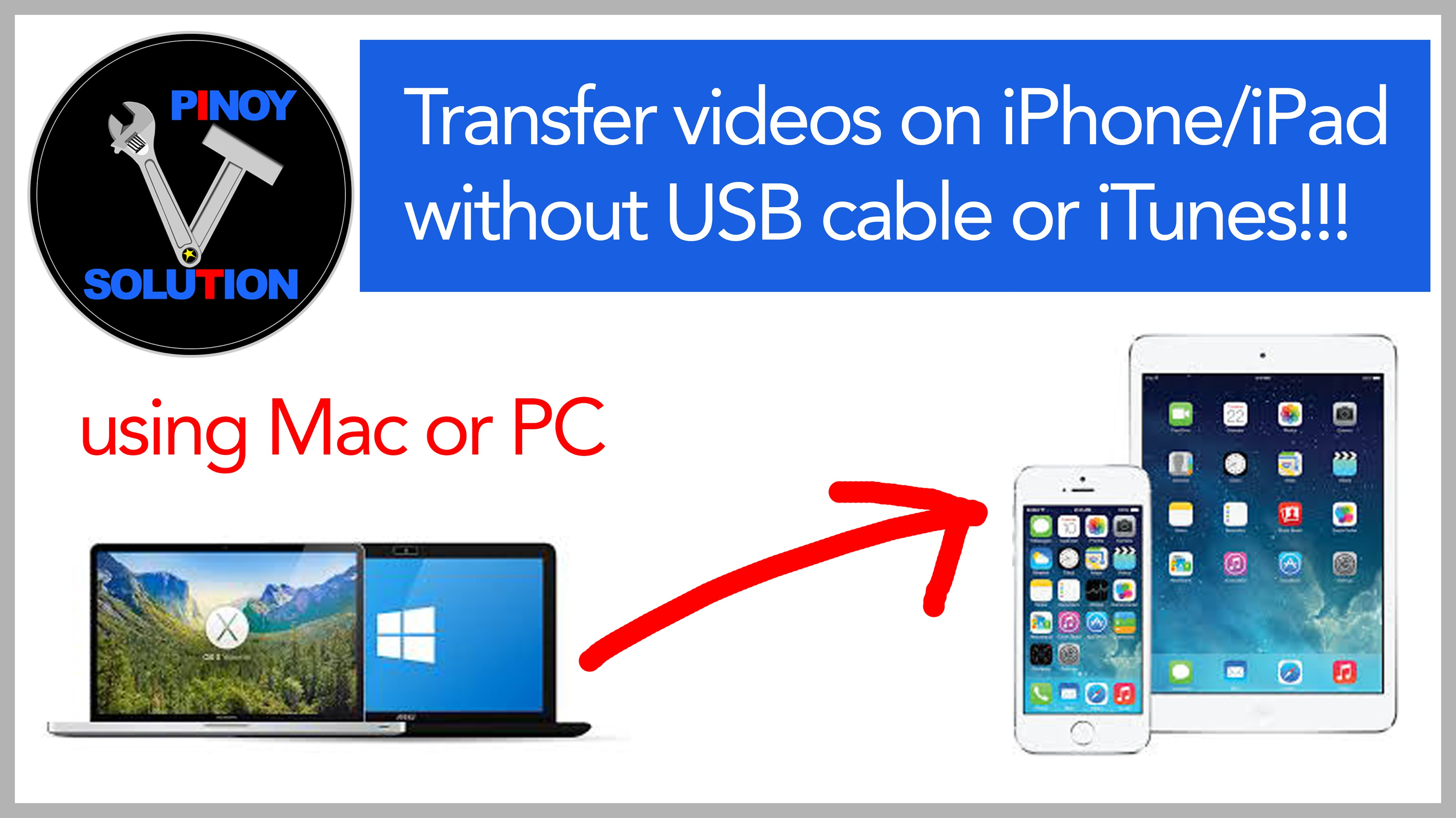How to transfer movies from MAC or PC to your iPhone / iPad