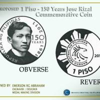 New 1Peso Rizal Commemorative Coin