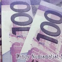 100 Peso NGC banknote date 2015 confirmed