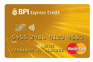 BPI Gold Mastercard - multiple entry visa for 3 years