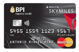 BPI Skymiles Platinum Mastercard - multiple-entry visa for 3-5 years