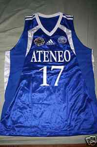 Chris Tiu #17 Ateneo de Manila Blue Eagles