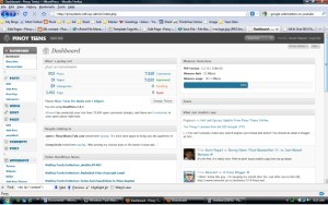 My WordPress Dashboard