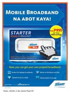"Smart Starter Plug-It: ""Mobile Broadband na Abot Kaya!"""
