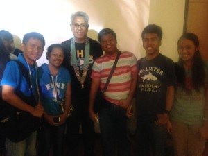 with Maestro Ryan Cayabyab