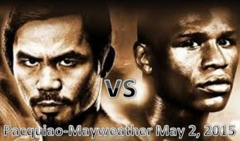 Pacquiao vs Mayweather Fight on May 2, 2015