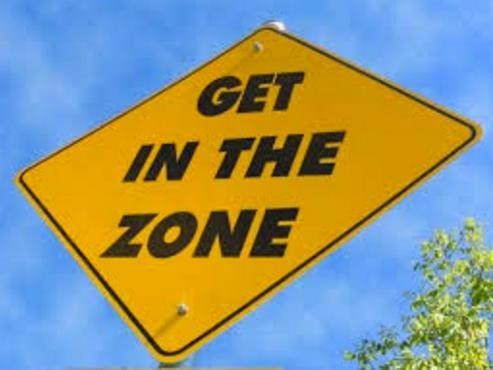 How to get and stay in the zone