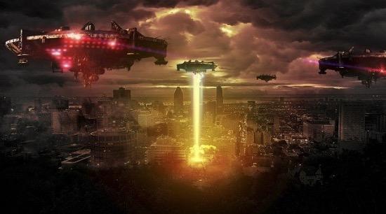 ufo invaze