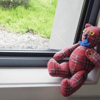 Relic George, the Tartan Teddy Bear
