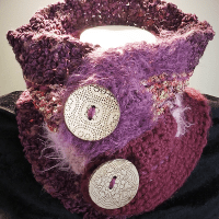 My Handmade Scarf #9: Weirdly Crochet Neck Cowl + FREE Pattern!