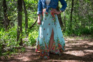 sewing the BHL Anna skirt
