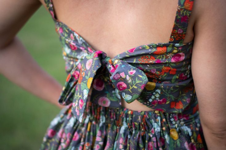 sewing the Wissew Camelia Dress