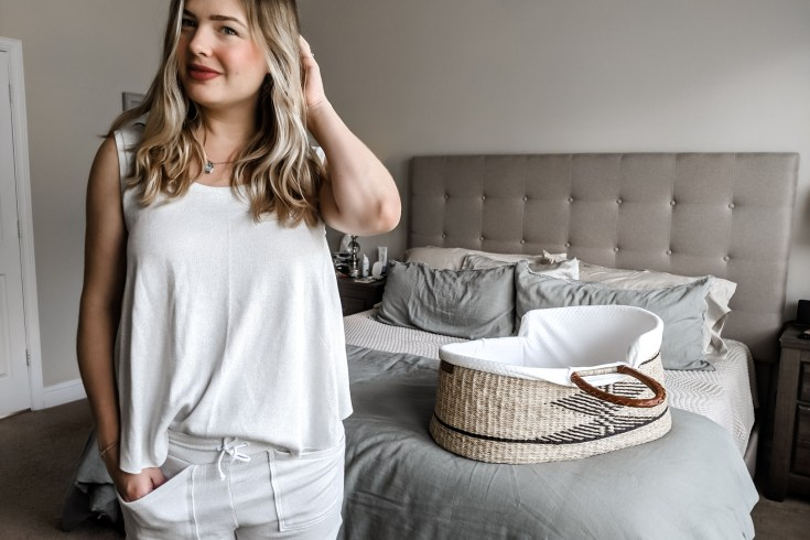 sewing the lurex luna tank and cozy pants