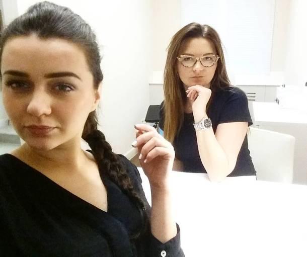 Serious at work womanatwork opinailbar instamoment work girlsworking