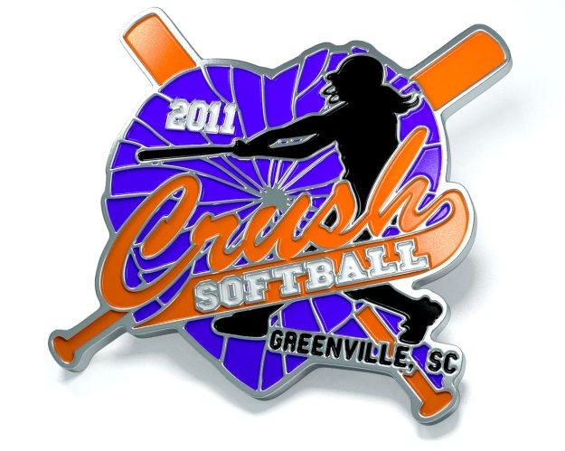 Crush Softball Pins