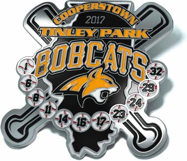 Tinley Park Bobcats Trading Pins