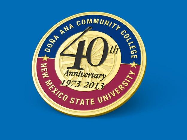 NMSU Anniversary Pins
