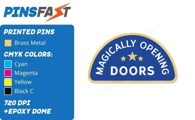 Opening Doors Pins