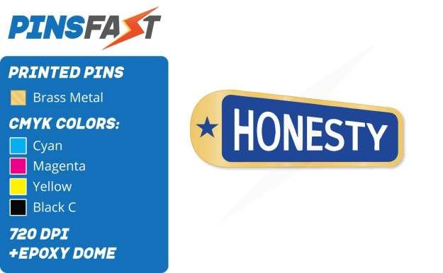 Honesty Pins