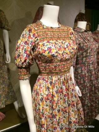 Liberty smocked dress