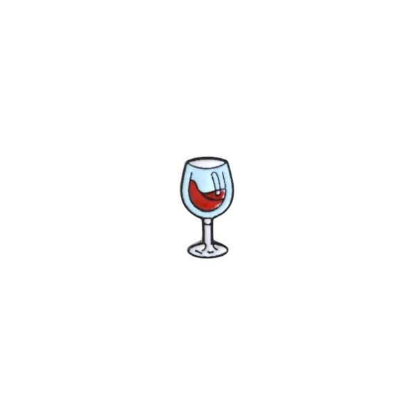 pin's verre de vin