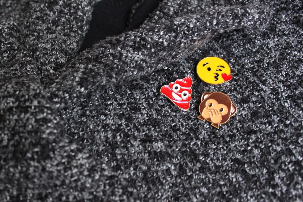 pack pin's emoji veste
